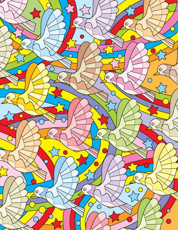 Bird Pattern - RS829