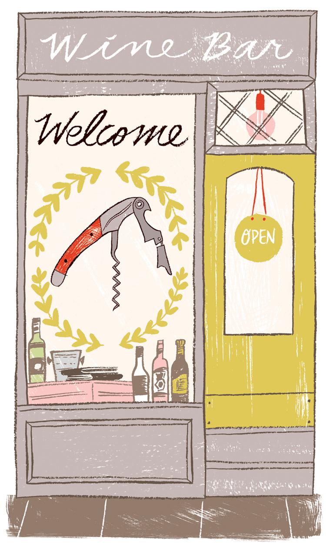 Wine Shop Storefront - KD478