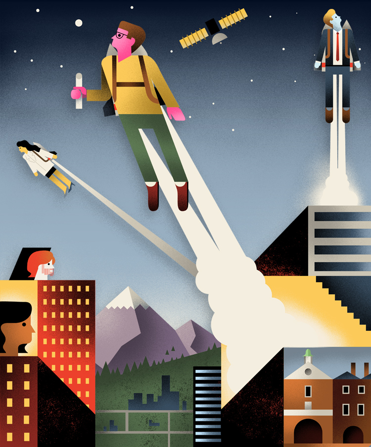 Lift Off! An education to prepare you for a new universe of information overload.