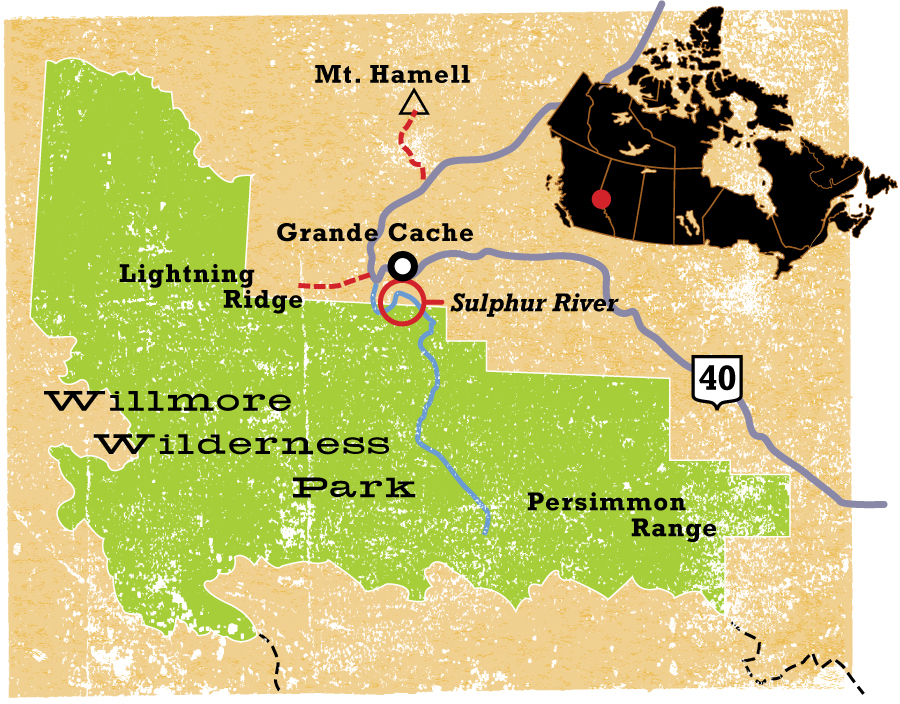 Willmore Wilderness Park - CW234