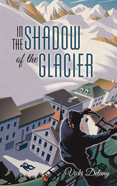 In the Shadow of the Glacier Illustration Gary Alphonso