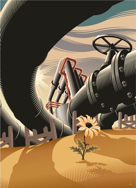 Oil in the Desert - GA701