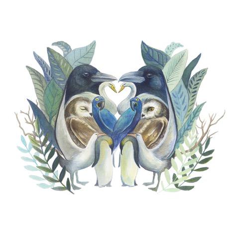 Bird Love - JD381