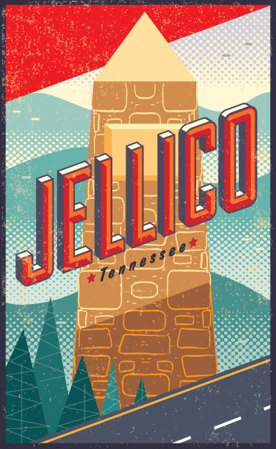 Jellico, Tennessee - CW199