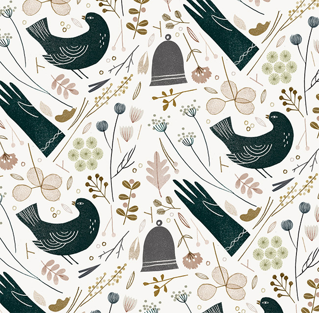 Birds and Gloves - CO227