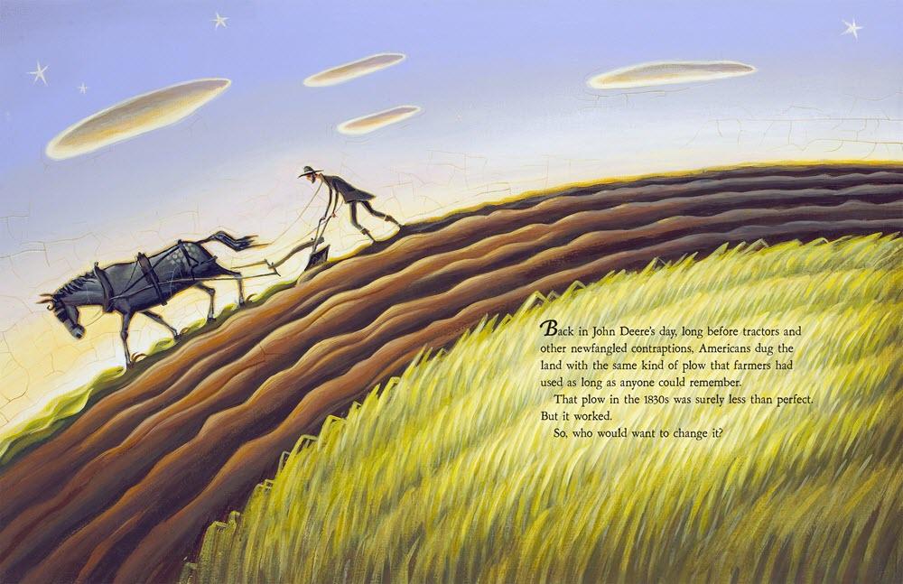 Tim Zeltner Illustration John Deere, That's Who Spread 1