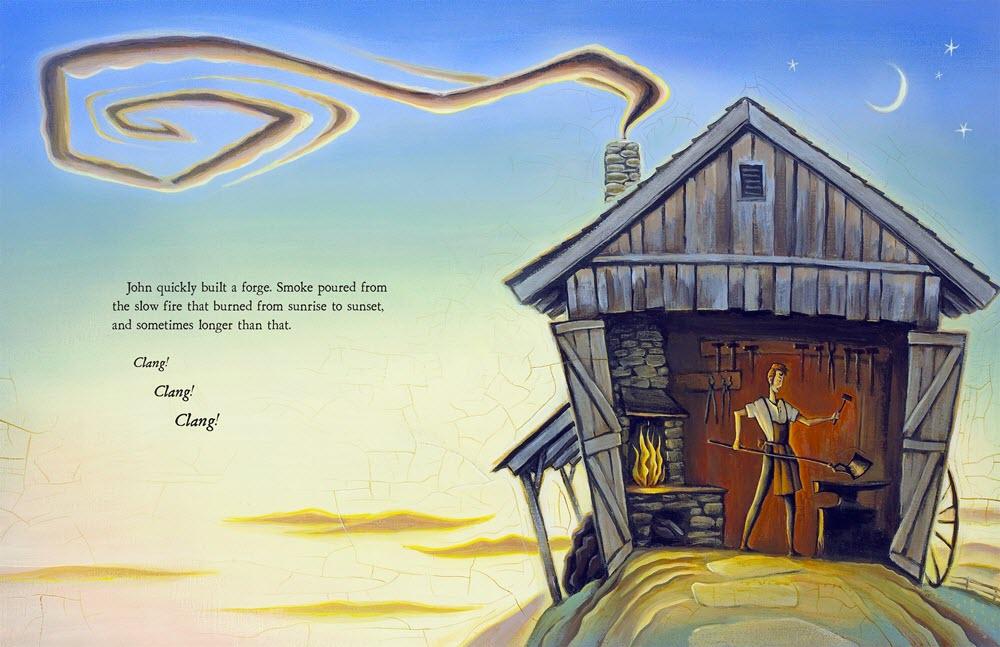 Tim Zeltner Illustration John Deere, That's Who! Spread 3