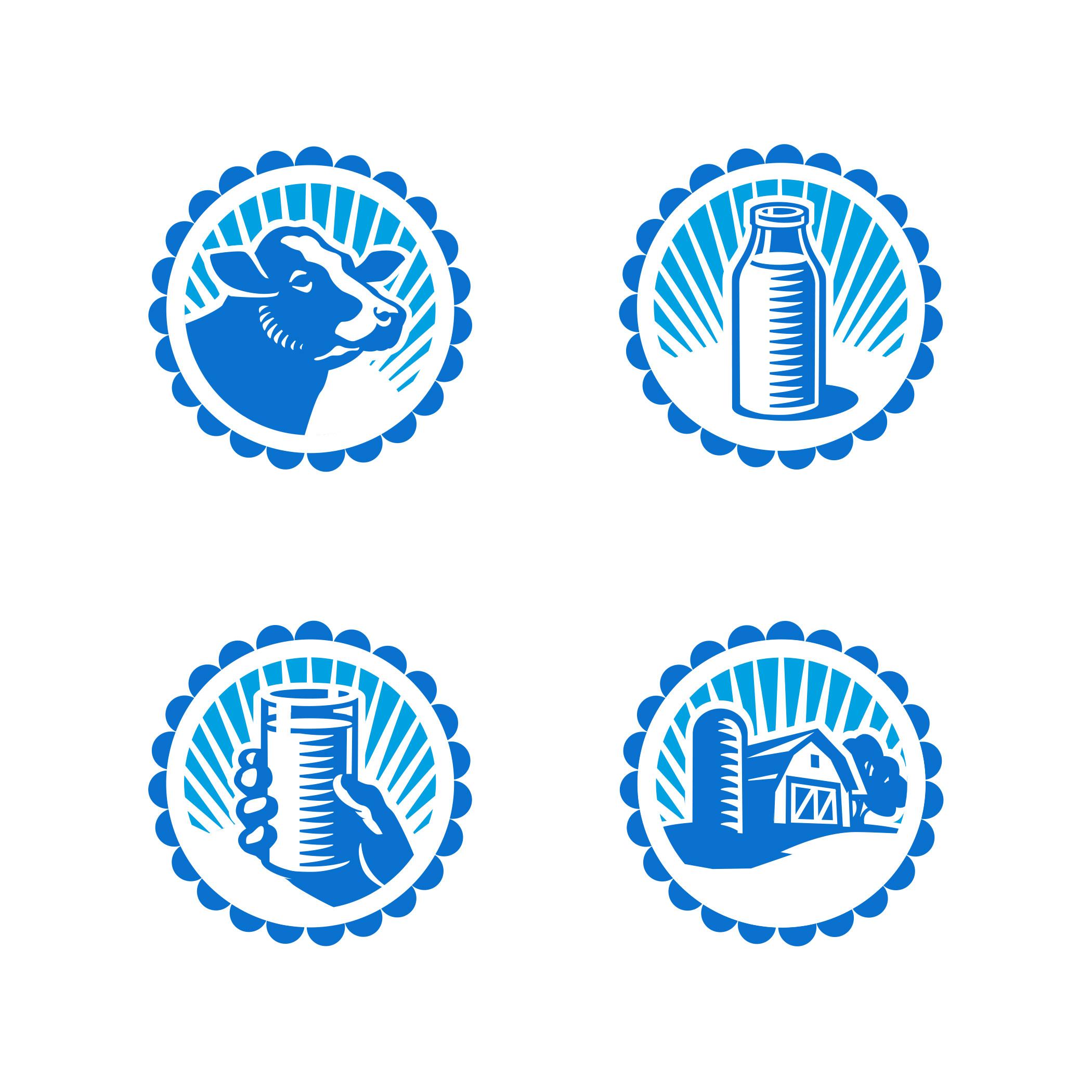 Milk Icons - GA702b