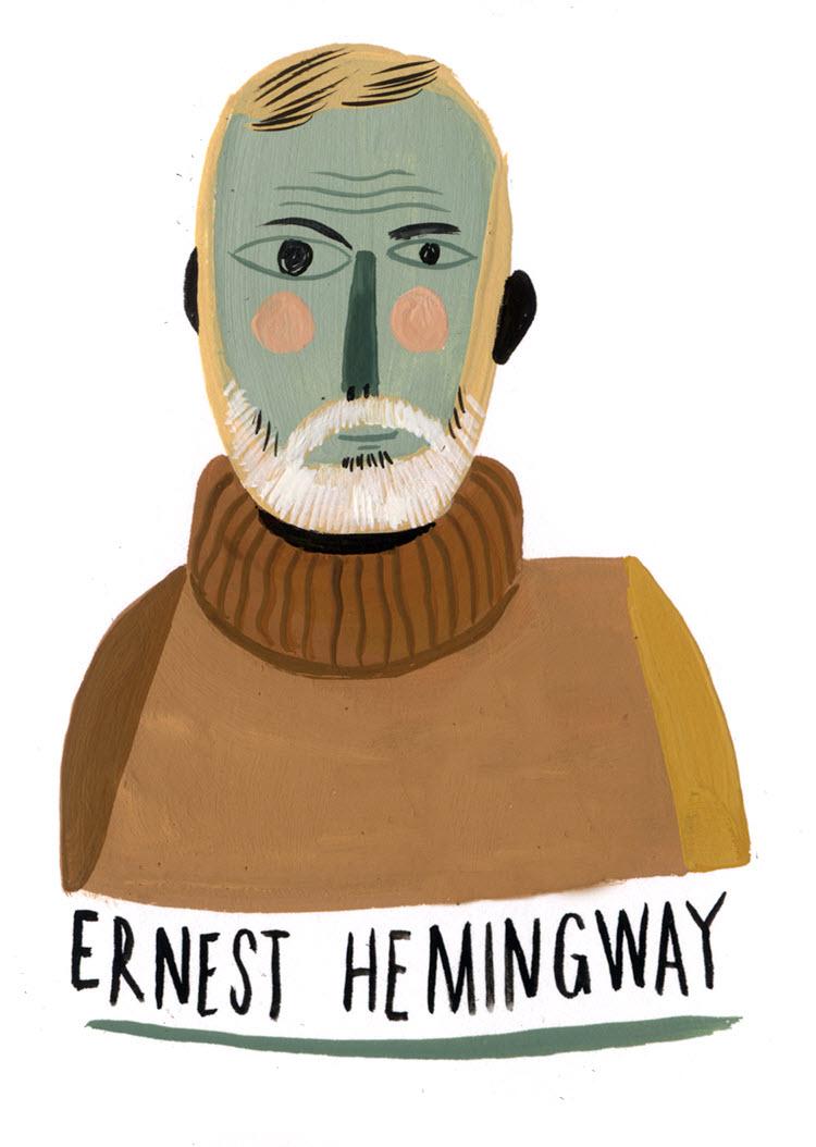Ernest Hemingway - MH780