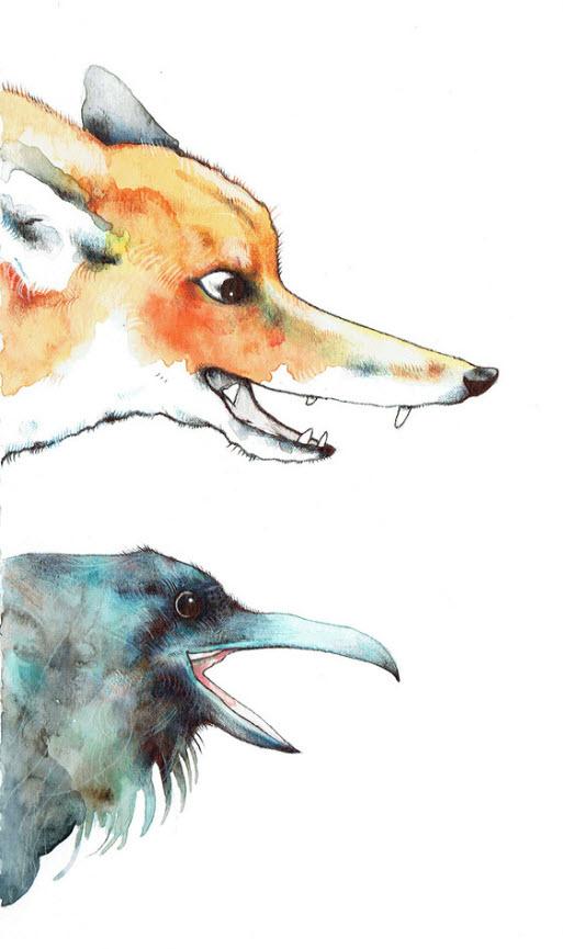 Fox and Raven - TB170