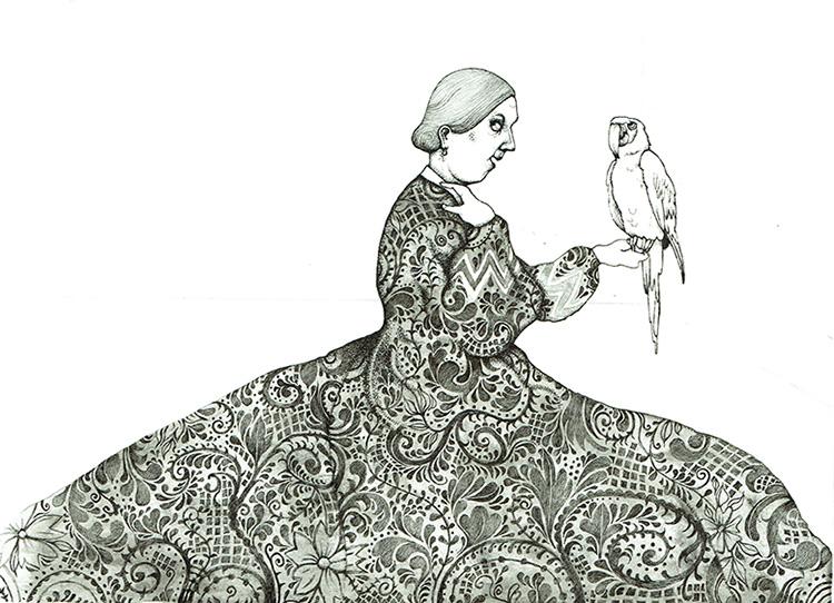 Mrs. Blackwood - TB185