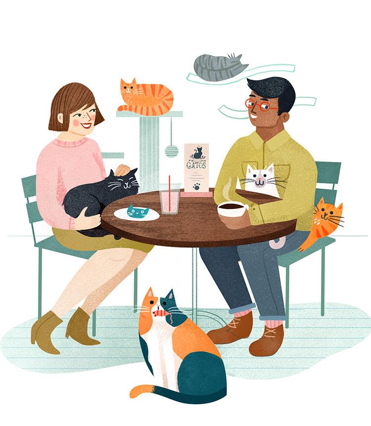 Cat Cafe - CO354
