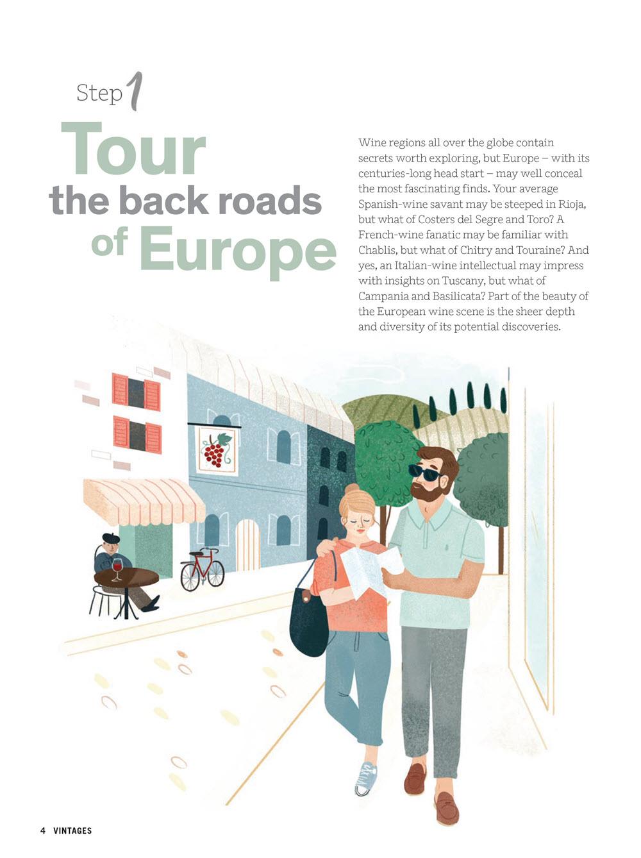 Clare Owen Illustration Tour Europe