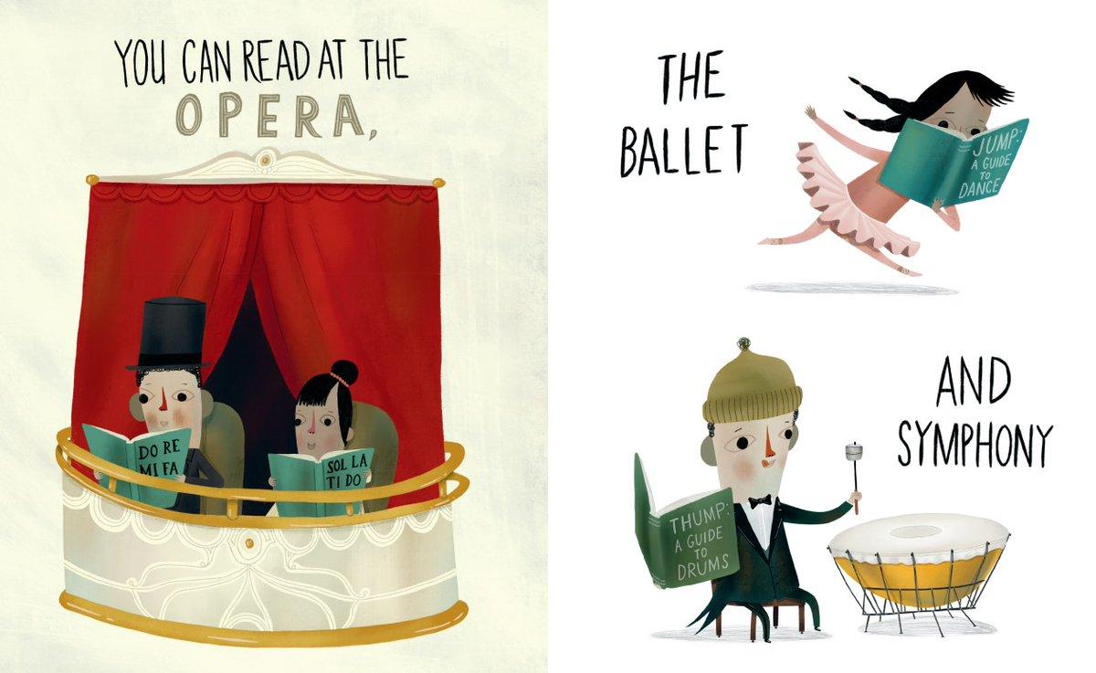 Mark Hoffmann Illustration You Can Read Opera