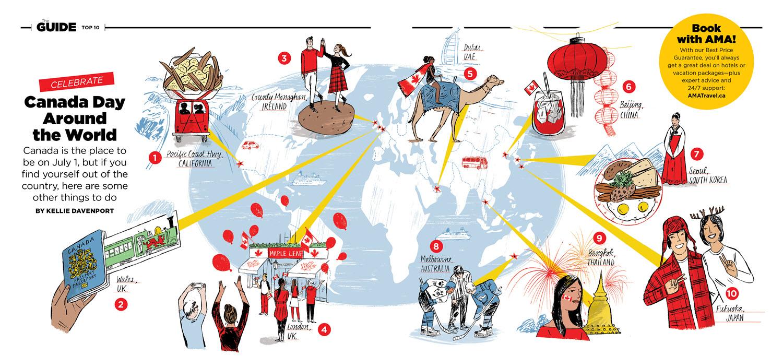 Canada Day Around the World - KD519