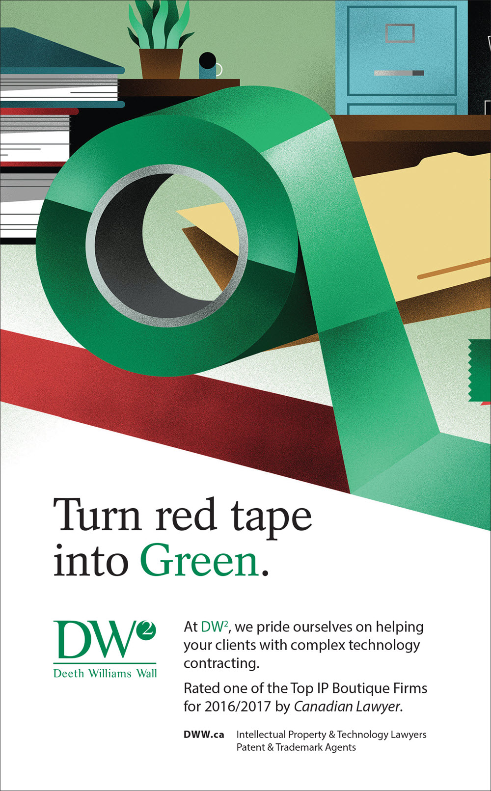 Turn Red Tape into Green - DM305