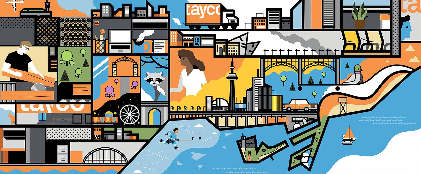 Tayco in Toronto - DM304