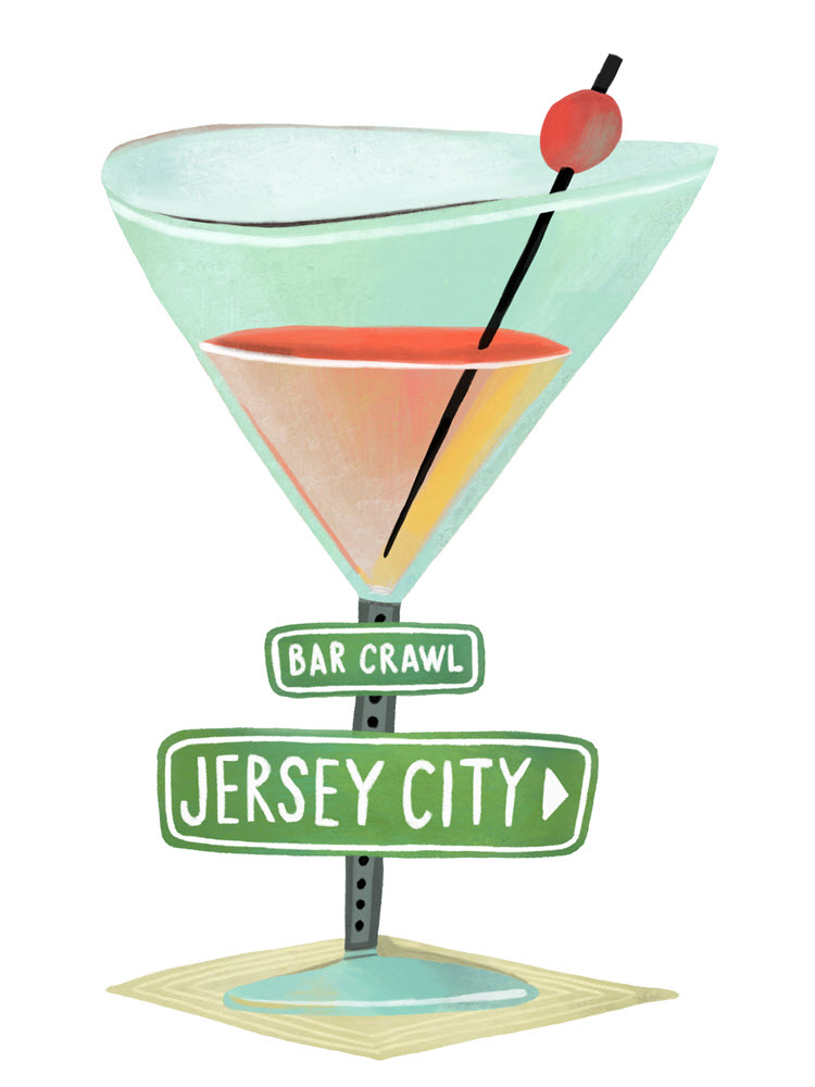 Jersey City Illustration Mark Hoffmann