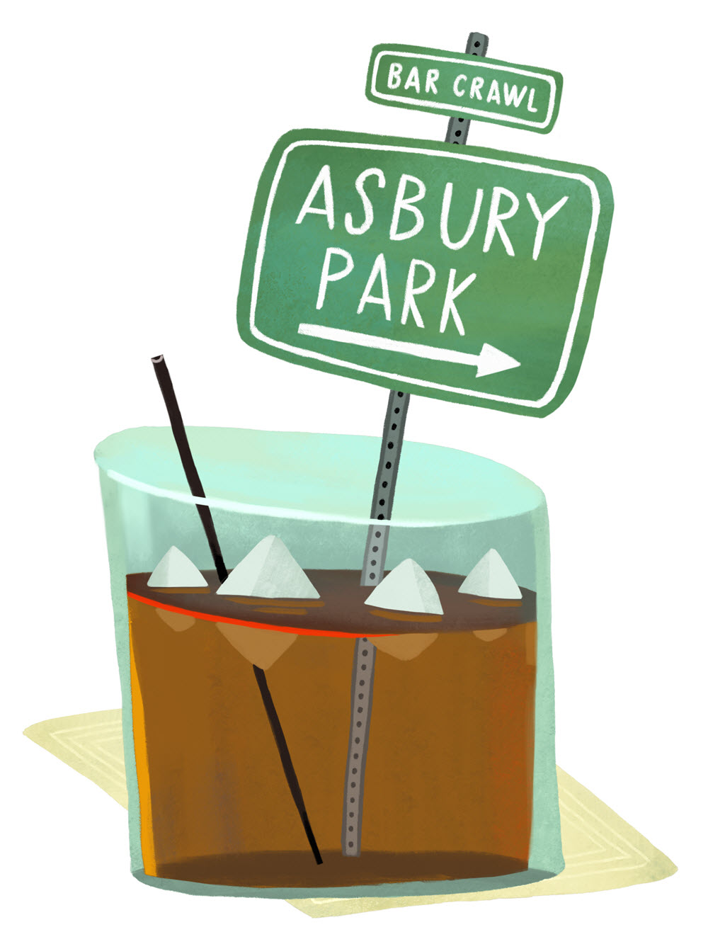 Asbury Park Illustration Mark Hoffmann
