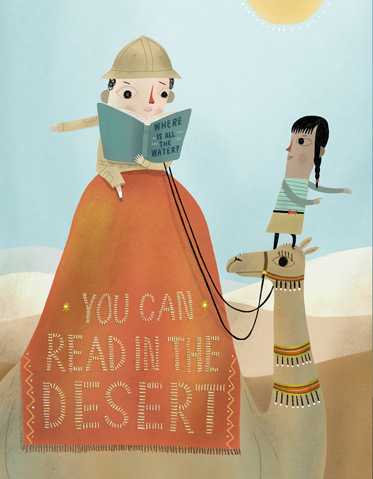 You Can Read in the Desert - MH796-a