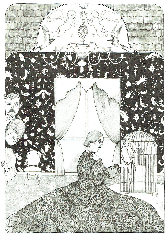 Mrs. Blackwood at Home - TB194