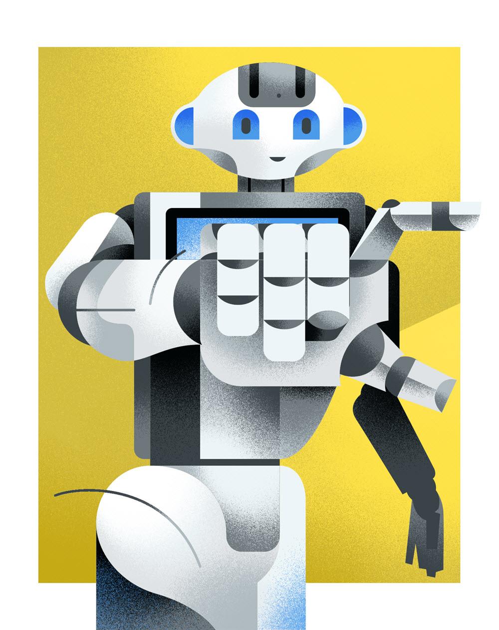Pepper the Robot - DM308