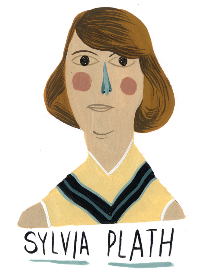 Slyvia Plath - MH828