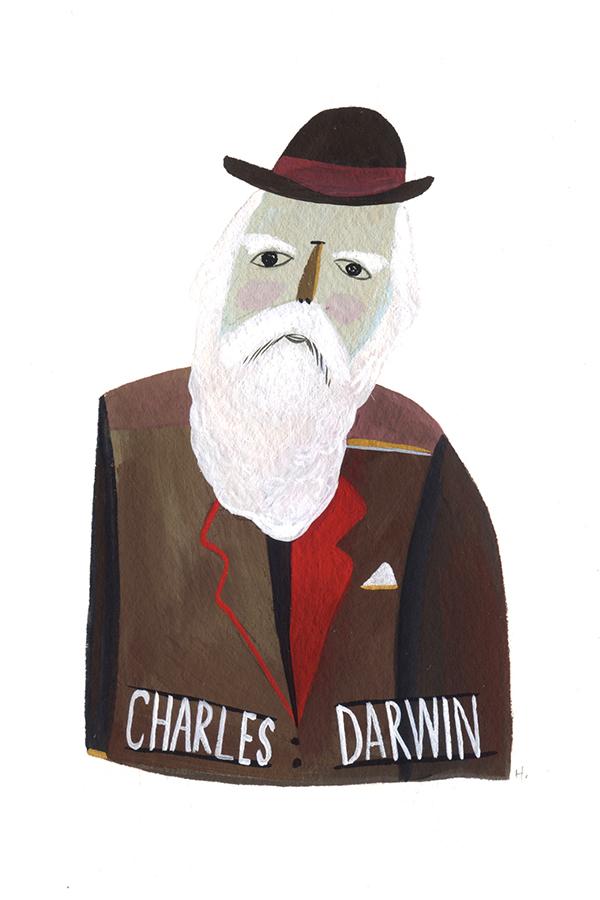 Charles Darwin - MH839