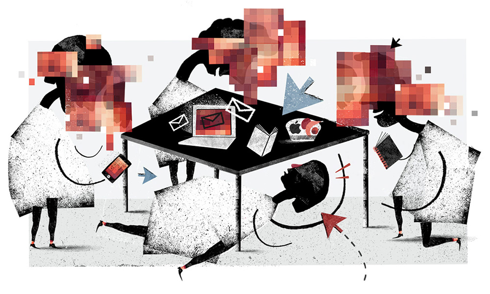 'Anonymous'for an article on cyber-stalking for The Guardian