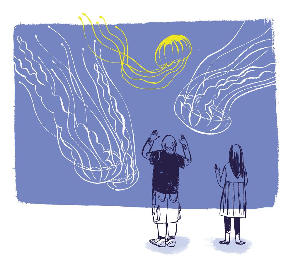 'Jellies at the Atlantic City Aquarium'.
