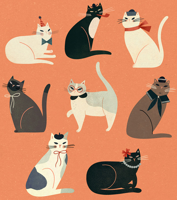 Vintage Cats - CO462