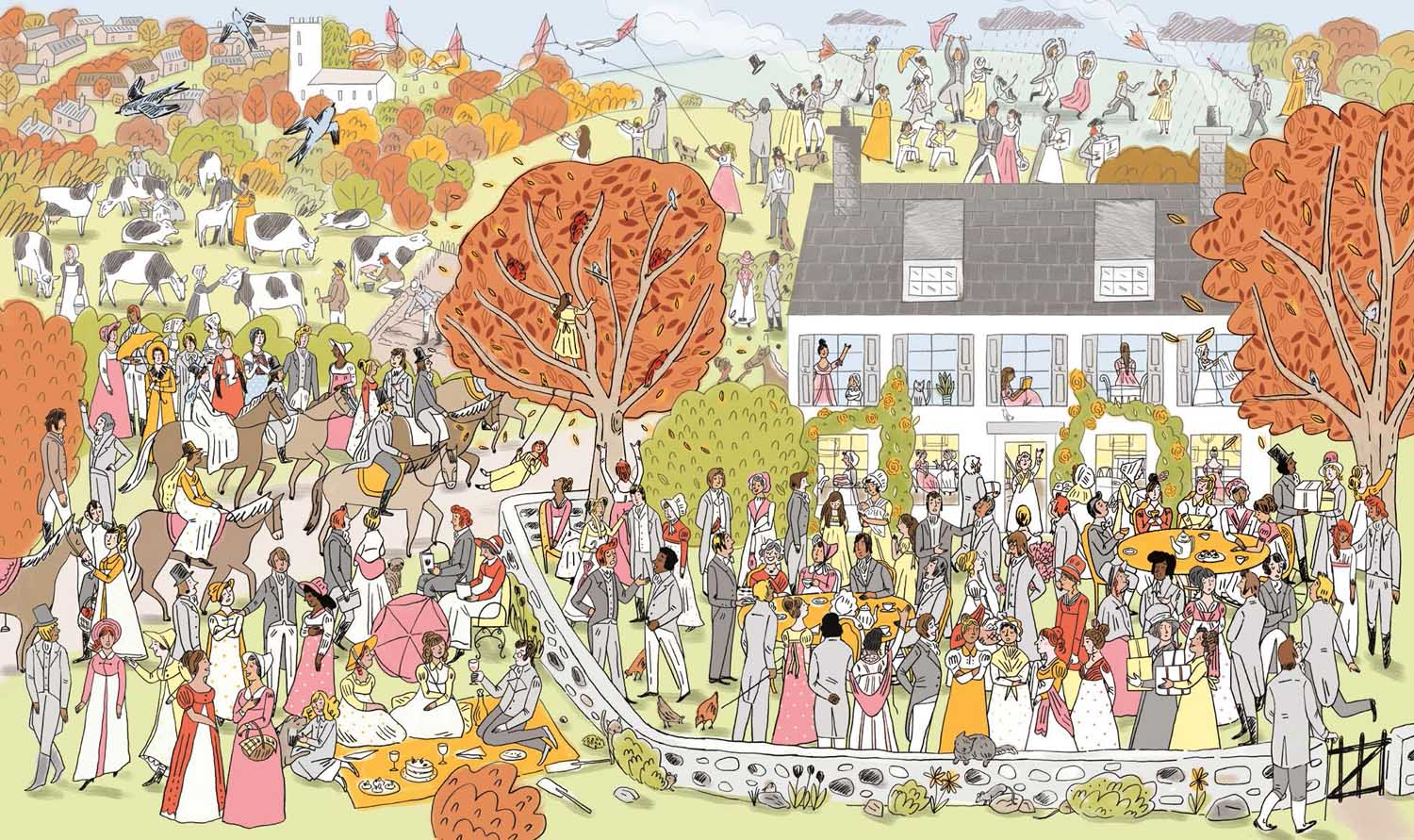 Where's Jane? Illustration by Katy Dockrill.