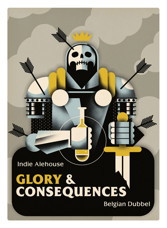 'Glory & Consequences' selected for The Society of Illustrators 57 annual show. Read a little more about it  here.