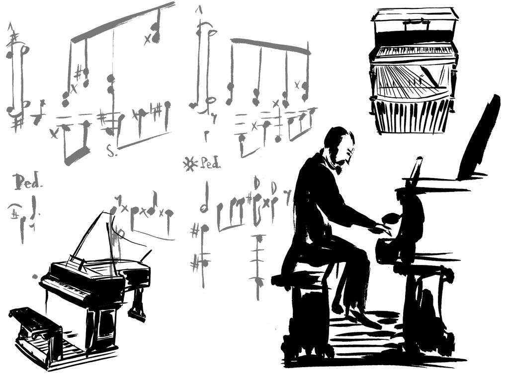 Alkan at the Piano - KD563