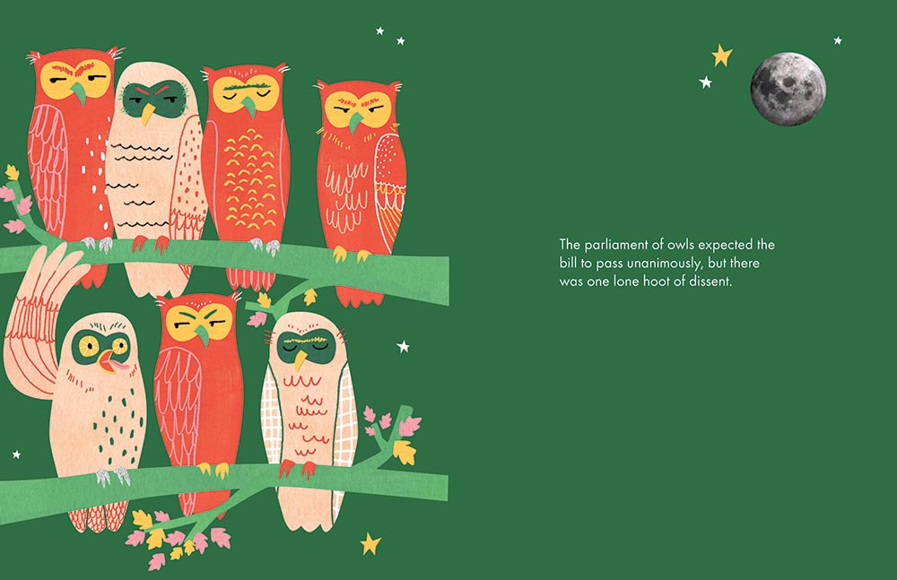 'A Parliament of Owls'.