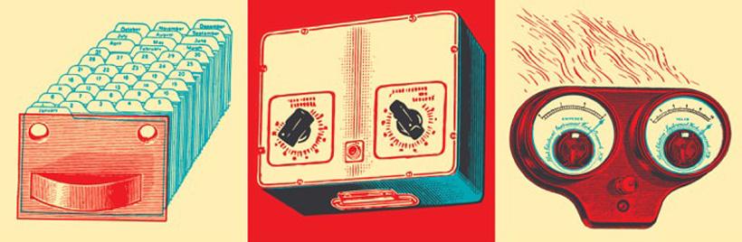 Robots. Illustration by Carl Wiens.