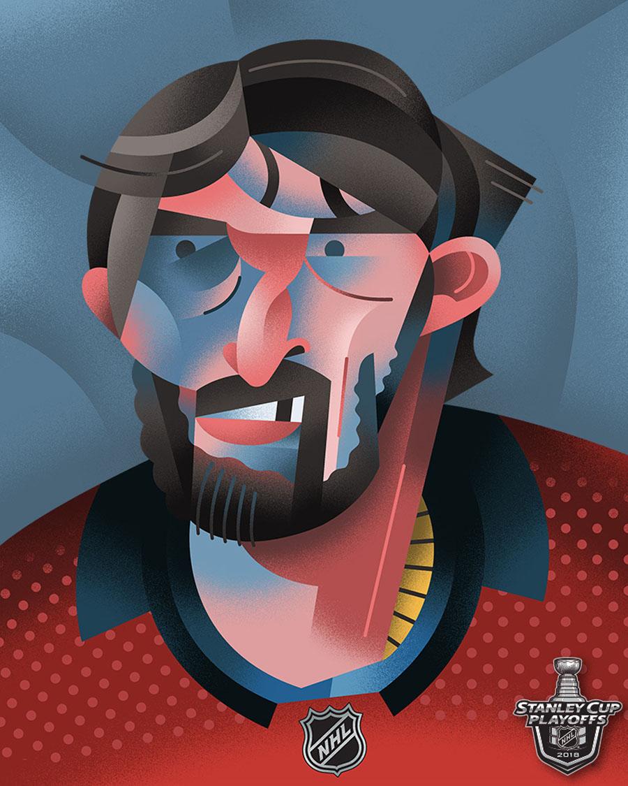 Washington Capitals captain Alex Ovechkin