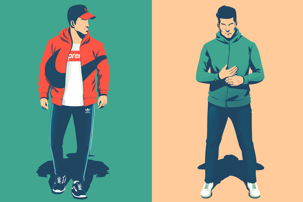 Sporty Details, from the Style Tweak series.