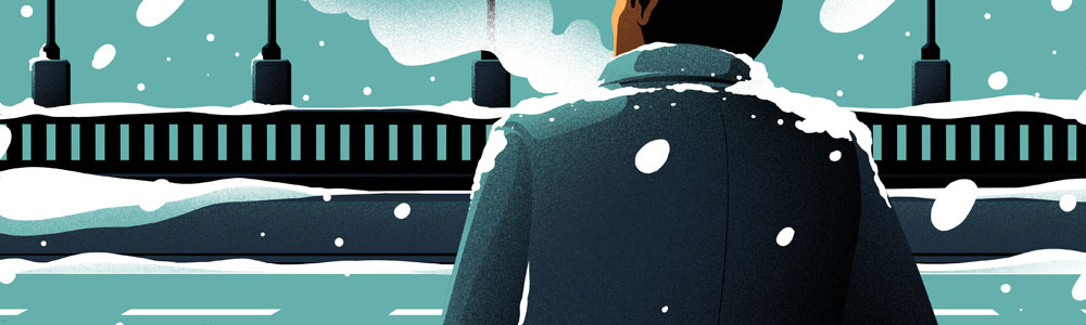 Winter Fashion. Illustrated by Eric Chow.