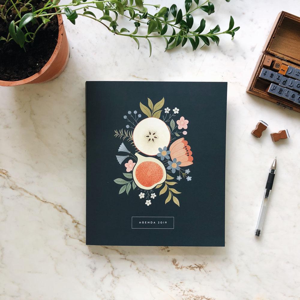 Agenda Bouquet. Illustration by Clare Owen.