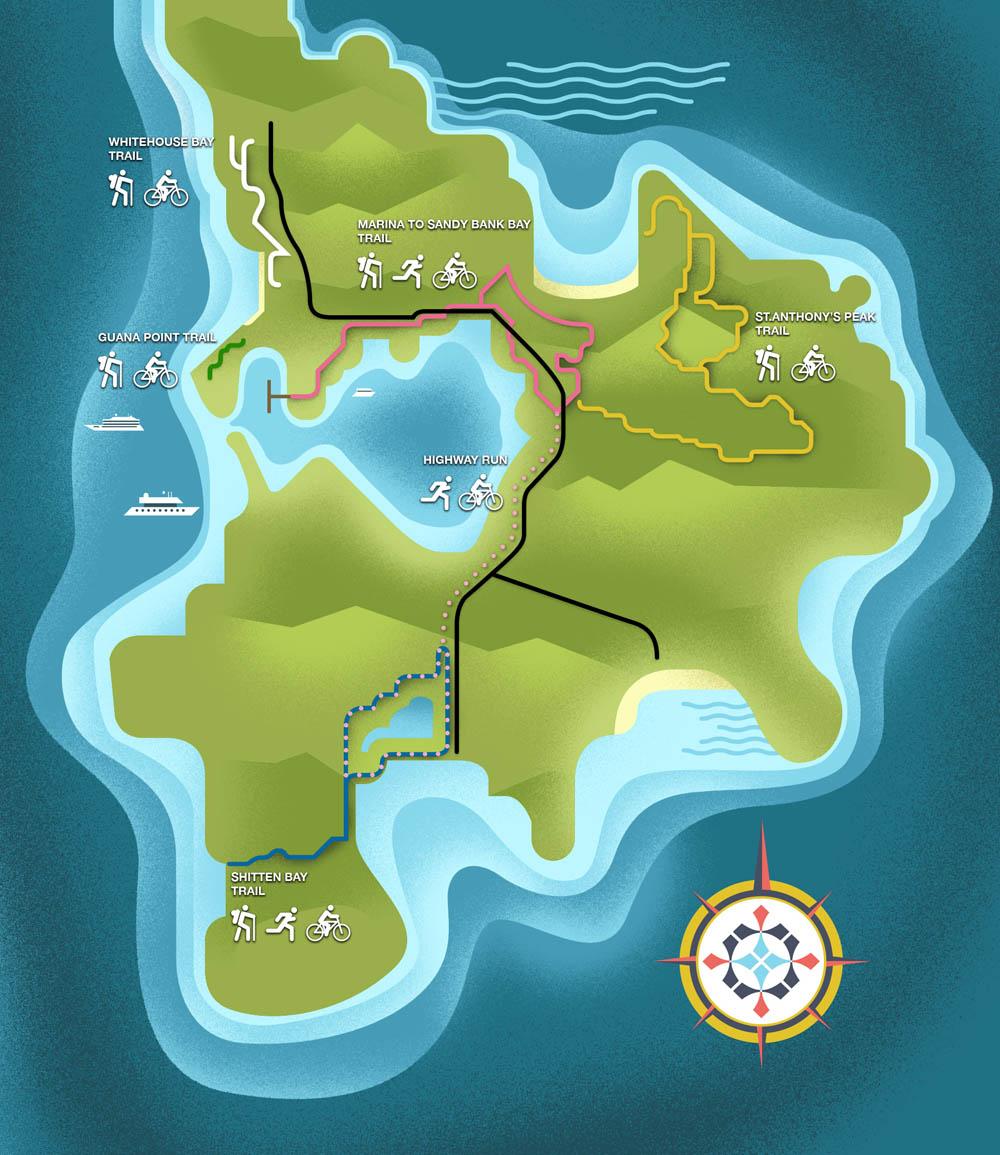 St Kitts' Trails - DM360