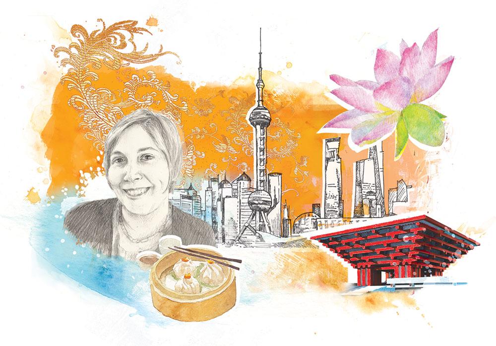 Natalie Pitre, China.