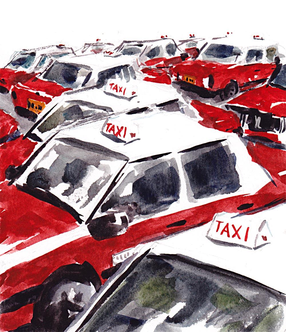 Hong Kong Taxis - DB 115