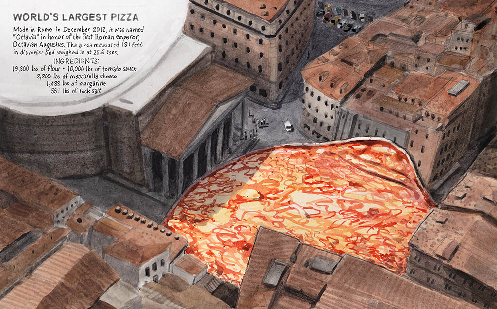 Largest Pizza Ever! - DB153