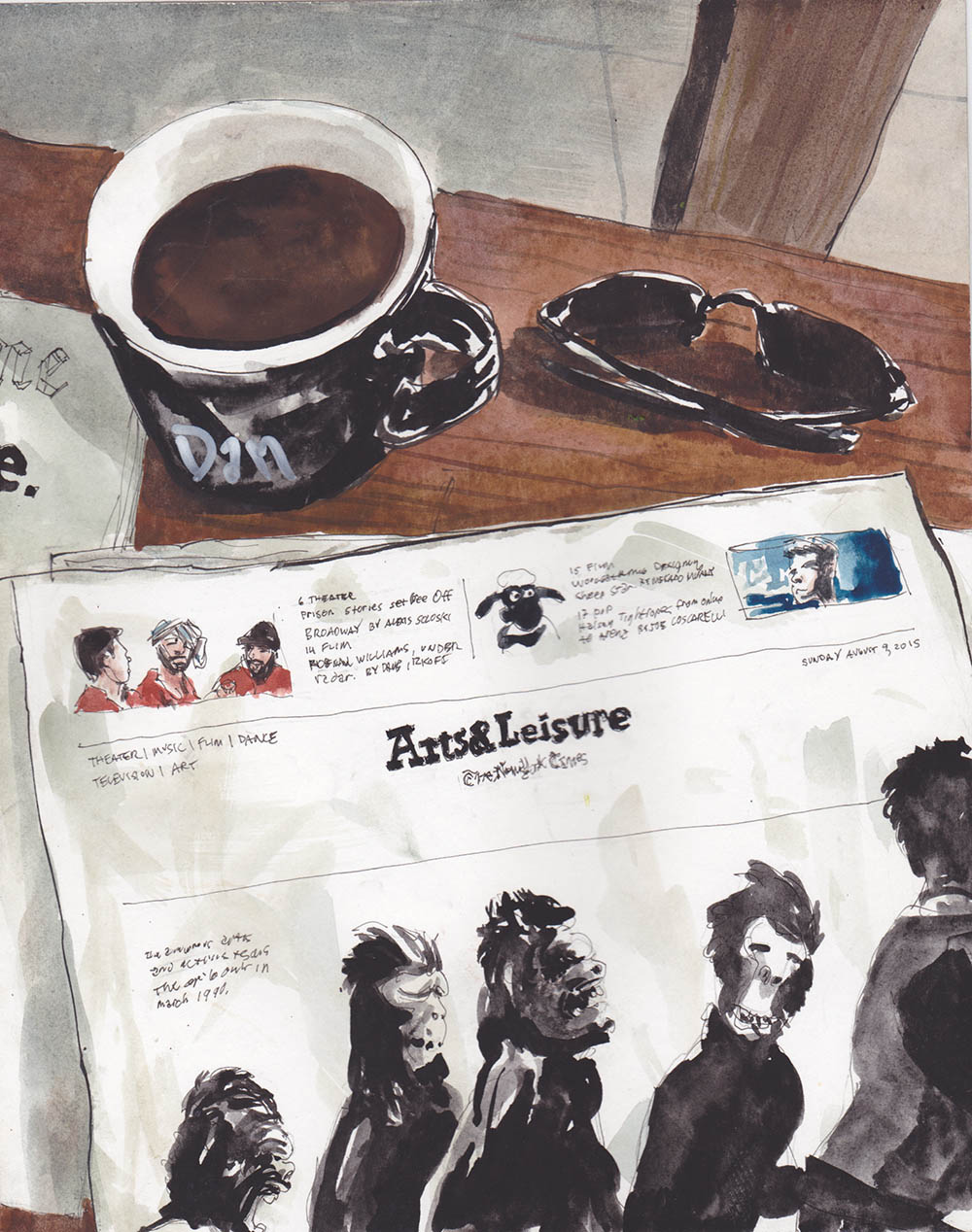 Sunday Paper - DB163