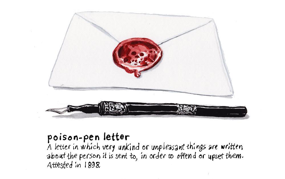 Poison Pen Letter - DB173