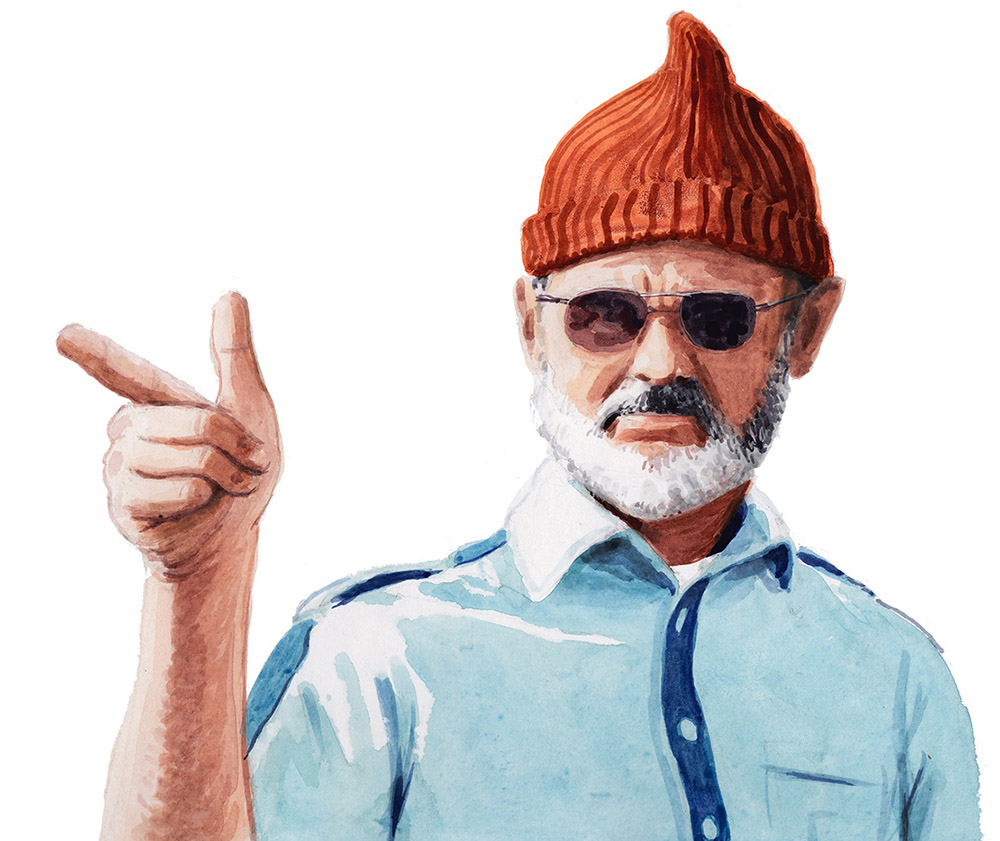 'Bill Murray' for the book Pizzapedia published by Ten Speed Press.