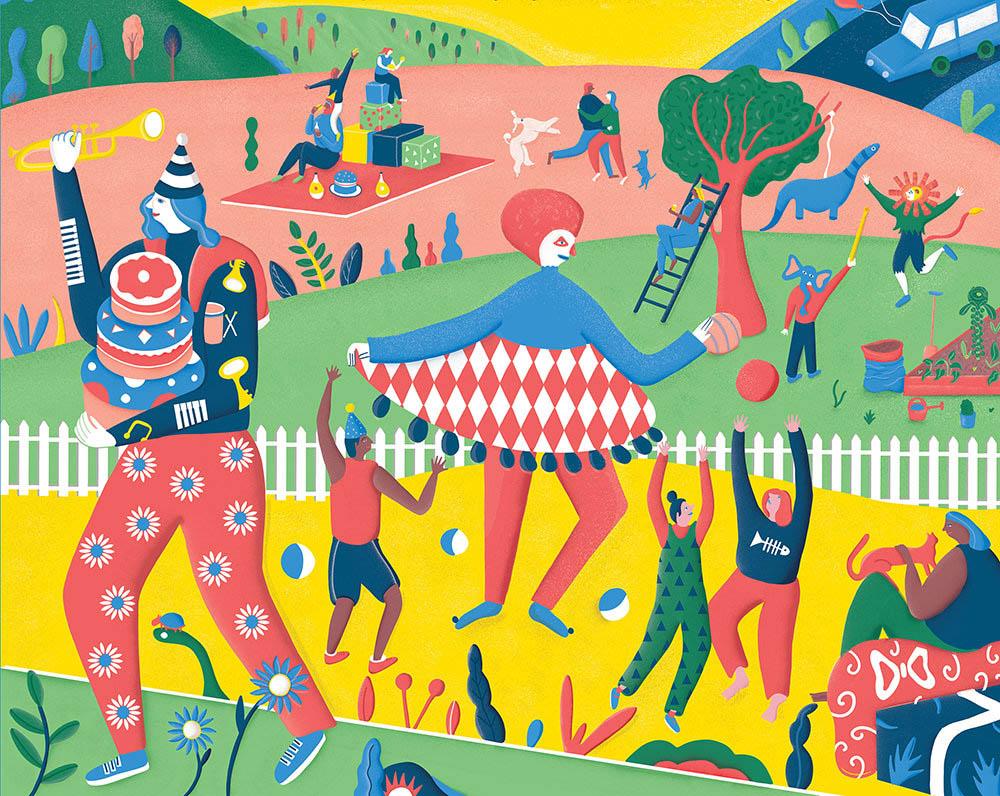 Circus Garden - EW114