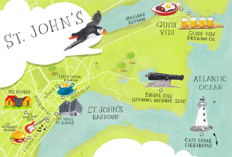 Sights of St. John's