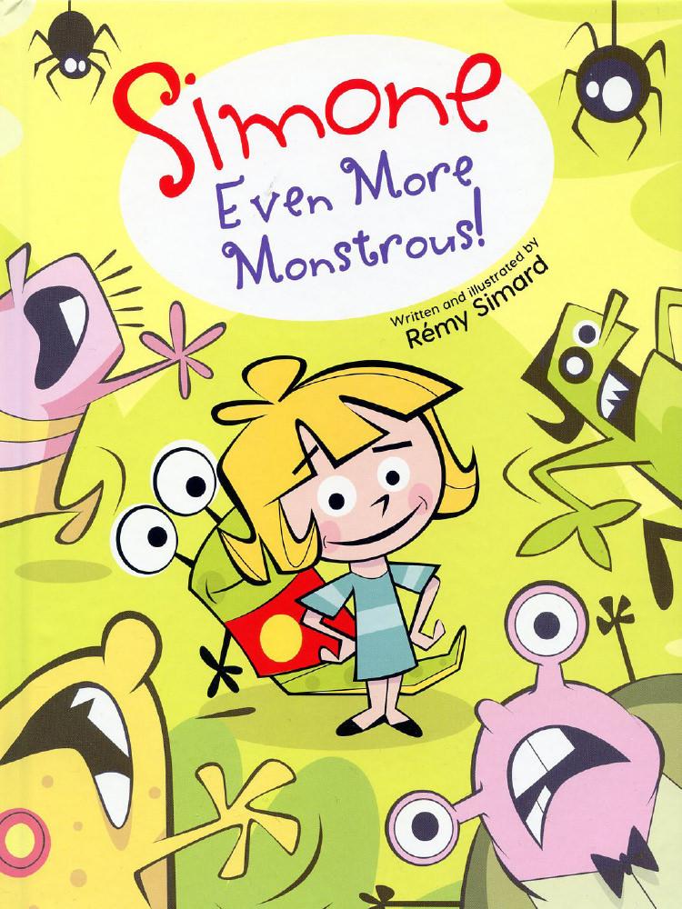 Simone Even More Monstrous!